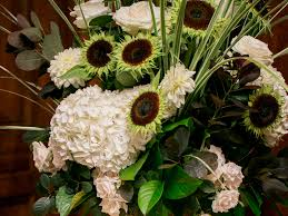 Photo Of Rustic Chic Wedding Flowers