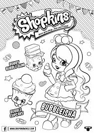 Coloring Pages Printable Shopkins