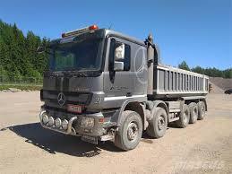 Used Mercedes-Benz -actros Dump Trucks Year: 2013 Price: $145,192 ...