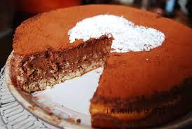 le gâteau au chocolat et noisettes pour dire bonne fête maman