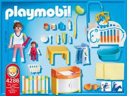 playmobil chambre bébé playmobil 4286 jeu de construction chambre de bébé amazon