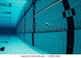 Sports Swimming Pool Underwater Lanes Starting With Number One