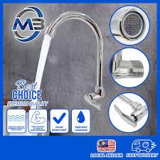 Diy Kitchen Faucet Home Diy Kitchen Bathroom Sink Faucet Wall Mounted Sink Tap Kepala Paip Air Sink