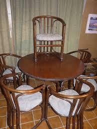 sitzgruppe 6 stühle runder tisch eßzimmer küche eur 1 00