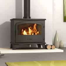 modern multi fuel stoves be modern ohio solid fuel stove 7 kw departments diy at b q