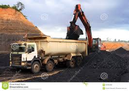100 Coal Trucks Dump Truck At Mining Site Stock Photo Image Of Industrial