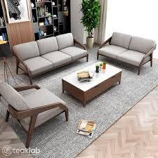 104 Designer Sofa Designs Buy European Minimal Design Wooden Online Teaklab