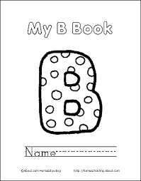 Print The Pdf My B Book Cover Page And Color Picture Add Following Pages Bind Together To Make A Use Your Back Button Return This