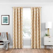 105 Inch Blackout Curtains by Solaris Blackout Blackout Liner White Polyester Rod Pocket Curtain