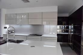 Black And White Kitchen Art Gallery Glass Splashback Installation Splashbacks Perth
