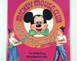 1957 Whitman Mickey Mouse Club Dot To Coloring Book Walt Disney