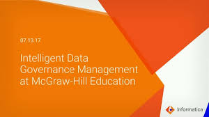 Mcgraw Hill Desk Copy by Data Governance Management At Mcgraw Hill Education