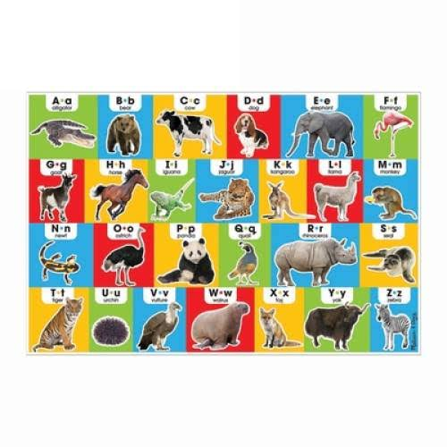 Melissa & Doug Animal Alphabet Floor Puzzle - 24pcs
