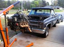 84 Chevy C10 LSx 5.3 Swap With Z06 Cam - Parts Needed Shown - Truck ...