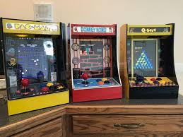 i made mini arcade cabinets running an emulation program off my