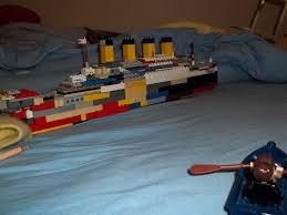 Lego Ship Sinking 3 by Lego Titanic 3 By Fatthoron On Deviantart