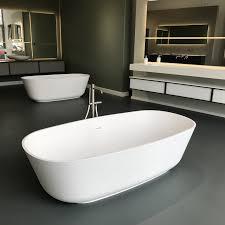 antoniolupi baia badewanne weiß matt edelstahl satiniert