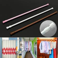 Spring Loaded Curtain Rod by High Quality 60 110cm Extendable Adjustable Spring Tension Curtain