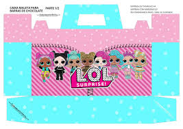 LOL Surprise Free Printable Suitcase Box