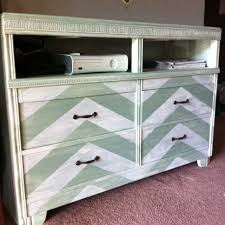 6 Drawer Dresser Cheap by My Diy Tv Stand This Was Previously An Off White 6 Drawer