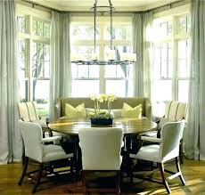Burlap Curtains Dining Room Curtain Ideas Photos Drapes For Window Treatments In