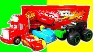 Disney Cars Mack Truck Playset Color-Changers Lightining McQueen ... Disney Pixar Cars Mack Truck Hauler Lightning Mcqueen Amazoncom Disneypixar Action Drivers Playset Toys Games Cstruction Videos 3 Buy Online From Fishpondcomau Dan The Fan 2 2010 New In Package Pixar Mack Truck Playset Hauler For Children Kids Car Xl Ft Store Semi Carrier Dj Byrnes Wash Cars Youtube Toy Mcqueen Story