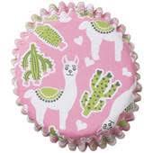 Llama Cupcake Cases 25 Pack