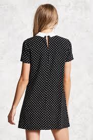 polka dot print shift dress forever 21 2000134365