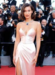 Bella Hadid Suffers Wardrobe Malfunction at Cannes Two Years in a Row