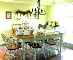 Dining Room Table Ideas Decoration Accessories Country Decor