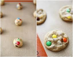 Mini M&M s Chocolate Chip Cookie Recipe on twopeasandtheirpod