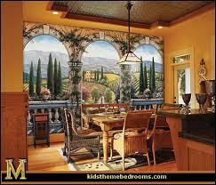 Tuscan Villa Wall Mural