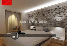 ورق حائط ثلاثي الأبعاد مرصوصة من الطوب ورق حائط حديث للحائط من الكلوريد متعدد الفينيل ورق حائط من الطوب ورق حائط رمادي لغرفة المعيشة
