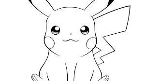 Pikachu Coloring Pages Page With Cute