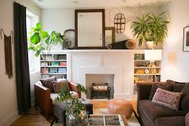 West Elm Everett Chair Leather by Get The Look Travel Inspired Boho Chic Apartment Therapy