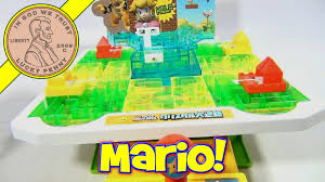 Super Mario Bros Japanese Crystal Maze Board Game Epoch Toys