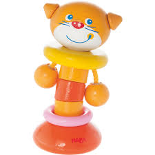 Clutching Toy Clatter Cat HABA USA
