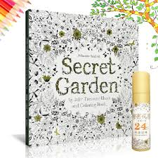 Secret Garden Colouring Book E1eEURi I Oi Ca ES A An Inky Treasure Hunt And Coloring 1 4 JPYi Version 3 Language Available English