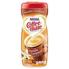 Coffee Mate Powdered Creamer Vanilla Caramel 15 Oz Canister NES49410