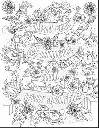 Remarkable Inspirational Adult Coloring Book Pages With Quotes And Disney
