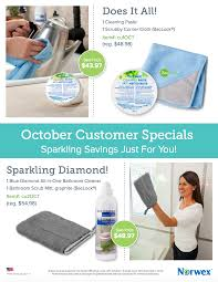 Norwex Pink Bathroom Scrub Mitt by October 2016 Norwex Hostess And Customer Specials Work With Water