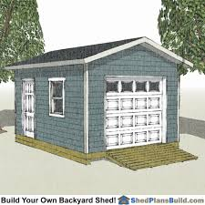 12x16 Shed Plans Material List by 12x16 Garage Storage Shed Plans