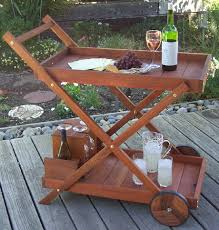 Redwood Serving Cart Plans
