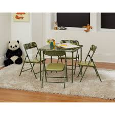 Cosco 5 Piece Kids Pinch-Free Vinyl Table And Chair Set   EBay The 10 Best Folding Card Table Sets To Raise The Stakes Come Gamenight Cosco 5piece Padded Vinyl Chair Set Stoneberry Fniture At Lowescom Dorel Industries Square Top Ding Or Kids Camo With Green Frame 37457cam1e Home And Office Reviews Wayfair 5 Piece Pinchfree Ebay Amazoncom In Teal Products Wood With Seat Steamer Sco Vinyl Table Without Introyoutube Youtube And Chicco High