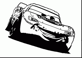 Astonishing Disney Cars Lightning Mcqueen Coloring Pages With Page And