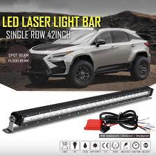 42Inch LED Light Bar Combo +Wiring Harness Switch Truck ATV 4x4wd ... 5inch 40w Led Work Light Bar For Truck Motorcycle Gd Traders Aries Automotive 50 Doublerow 26 Best Of Off Road Lights Home Idea 315 Inch 180w 4x4 Led Curved Tractor Offroad 4wd 72018 F250 F350 Nfab Offroad 30 W Amazoncom Senlips 52 Inch 300w Install Of Westin Bar And Hella 500ff 18watt Vehicle Torchstar Kohree 108w Cree Spotflood Rc Deluxe Package Kit Torch Series Grilles