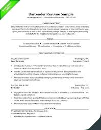 Resume For Server Here Are Objective Samples Example