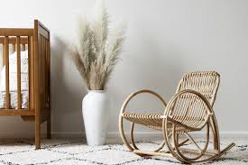 Child's Deco Rocking Chair. Havana Cane Sofa Cushion Vintage Birdseye Maple Rocking Chair Woven Seat Sewing Mid Century Danish Modern Rope Wegner Pair Of Chairs Rosewood Carved With Cane Weaving Vti Chennai Antique Woven Rocking Chair Butter Churn On Wooden Malawi White Mid Century Arthur Umanoff Cord Rope Wicker Rocker Rustic Primitive Armchair Glider Seating Rattan Shabby Chic Coastal Country French Nursery Old Wooden Isolated Stock Photo