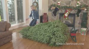 Ace Hardware Christmas Tree Stand by Omega Tree Stand Tv Commercial Youtube