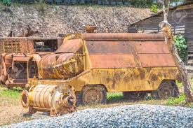 100 Lawn Trucks Pump Machine Used In Mining Was Set Up In The Of